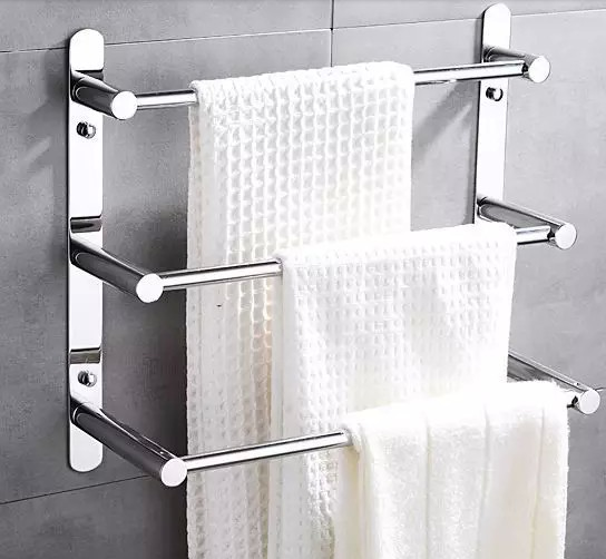 Popular ladder towel rack buy cheap ladder towel rack lots for Bathroom towel racks