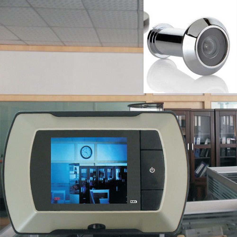 "Гаджет  2.4"" LCD Visual Monitor Door Peephole Peep Hole Wireless Viewer Camera Video None Аппаратные средства"