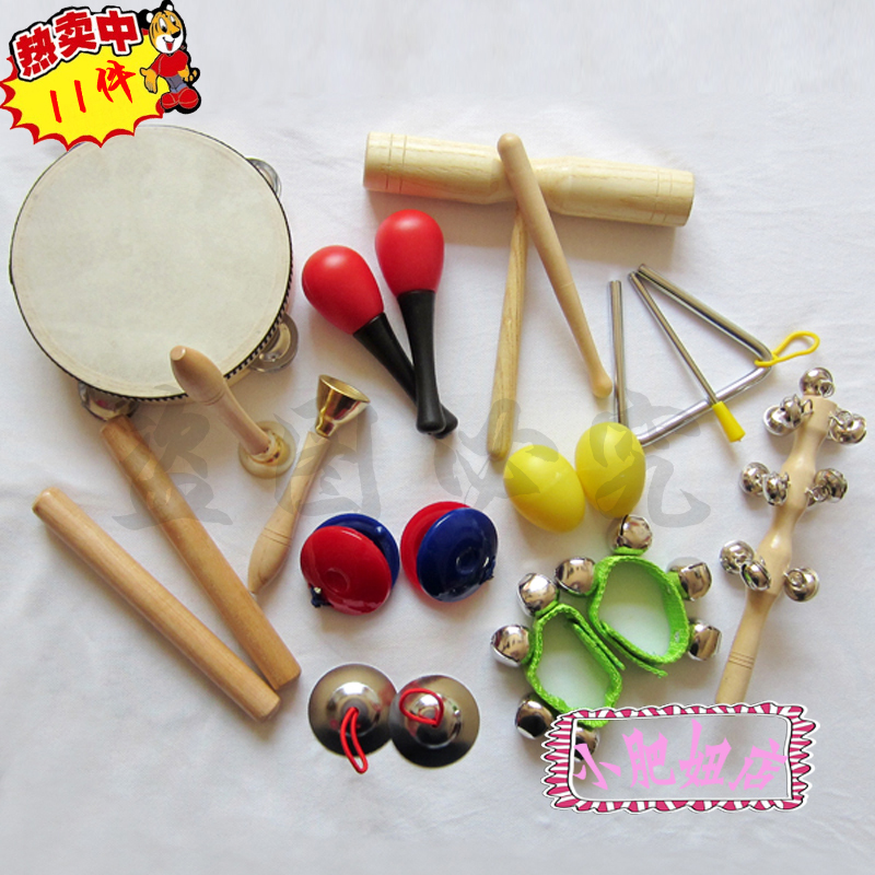 Toy Musical Instruments : Free shipping orff instruments child percusses piece a