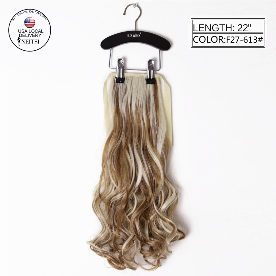 Hairpieces Clip On Ponytails 18