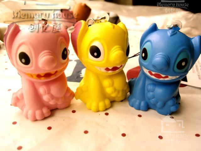 Cartoon Lovely The new history Doll Squishy Phone Charm / Bag Char/ free shipping(China (Mainland))