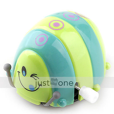 Funny Colorful Baby Kid Beetle Thumbing Somersault Running Clockwork Spring Toy 56(China (Mainland))