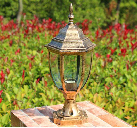 Pillar caplights lamp post lawn lamp fashion outdoor waterproof lighting fitting  Free shipping<br><br>Aliexpress