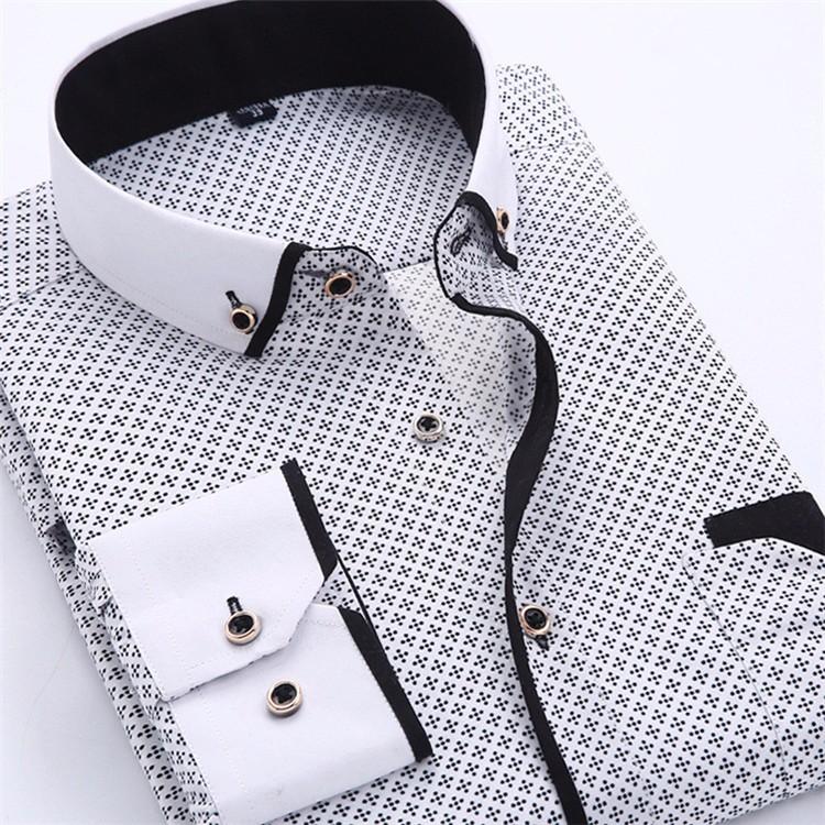 HTB1PylFJVXXXXa8XXXXq6xXFXXXh - Big Size 4XL Men Dress Shirt 2016 New Arrival Long Sleeve Slim Fit Button Down Collar High Quality Printed Business Shirts M014