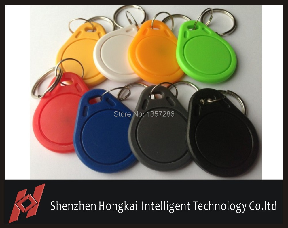 Free Shipping T5577 key fob 125Khz for key tag access control (100pcs)<br><br>Aliexpress
