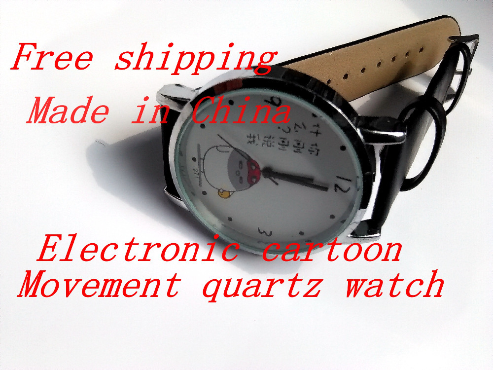 Ya Zhu lun 2015 new students rushed to the boys and girls and the small gray fowl movement quartz watch(China (Mainland))
