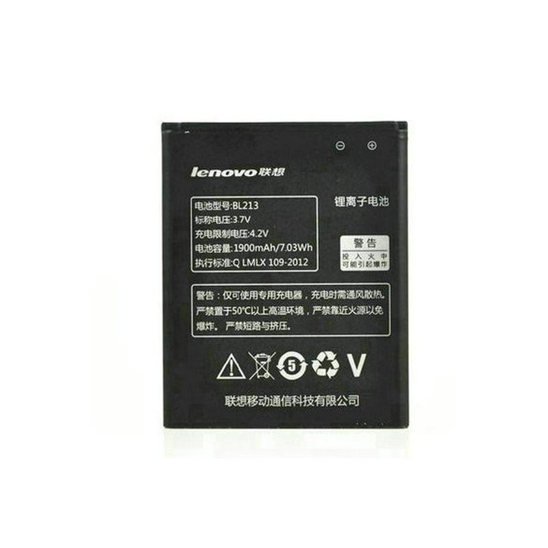 In Stock BL213 1700mAh Mobile Phone Battery For Lenovo MA388A Android Cell Phone