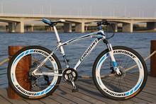 Men&Women High Quality Mountain Bike 21 Speed 26 Inch Double Disc Brake Bicycle,Fashion Road Bike(China (Mainland))