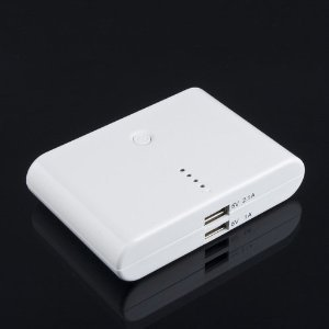 Sufficient  Capacity   External Portable 12000mAh Rechargeable Emergency Backup Power Bank Battery Charger for Smartphone