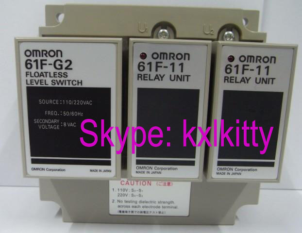New and original 61F-G2 AC110/220V OMRON Liquid level relay Floatless level switch(China (Mainland))