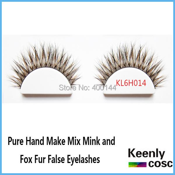 Free Shipping! 20 Pairs/lot Reusable Natural Long False Eyelashes Pure Hand Make Artificial Fake Eyelashe Extension <br><br>Aliexpress