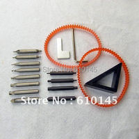 the whole set cutters with spare part for vertical key cutting machine.Common quality