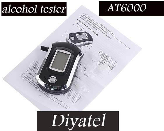 Alcohol Tester with CE ROHS/Mouthpiece Breath Alcohol Tester/manufacture drop shipping(China (Mainland))