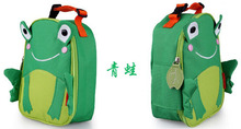 Free Shipping Cute Lunch Bag Zoo Bag Lancheira Zoo Lancheira Termica Infantil Lunch Bags for Kids Bolsa Termica(China (Mainland))