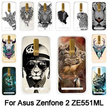 Asus Zenfone 2 ZE551ML Hard Plastic Cellphone Mask Case Protective Cover Housing Skin Free Shiping - AkiAk1 Store store