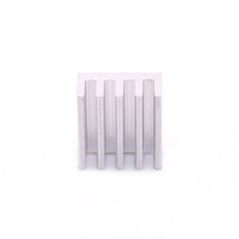 50pcs lot 3D Printer Stepper Driver StepStick A4988 DRV8825 Heatsink 11x11x5mm Aluminum Silver Heat Sink