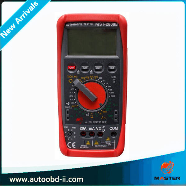 MST-2800B Low price Electric Digital Multimeter AC DC Ohm volt Tem Tester Meter Digital Multimeter/fluke digital multimeter(China (Mainland))