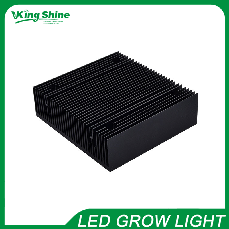 New high quality black radiator 50w-150w Pure aluminium led heatsink for high power cob led chip diy led lamps(China (Mainland))