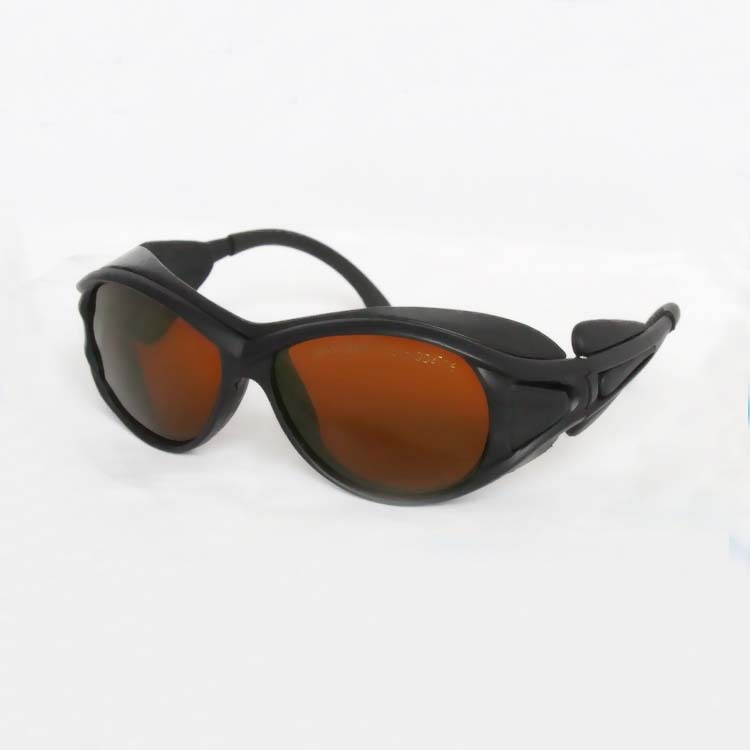 Nd:YAG 532&amp;1064nm laser safety glasses with cloth and bag<br><br>Aliexpress