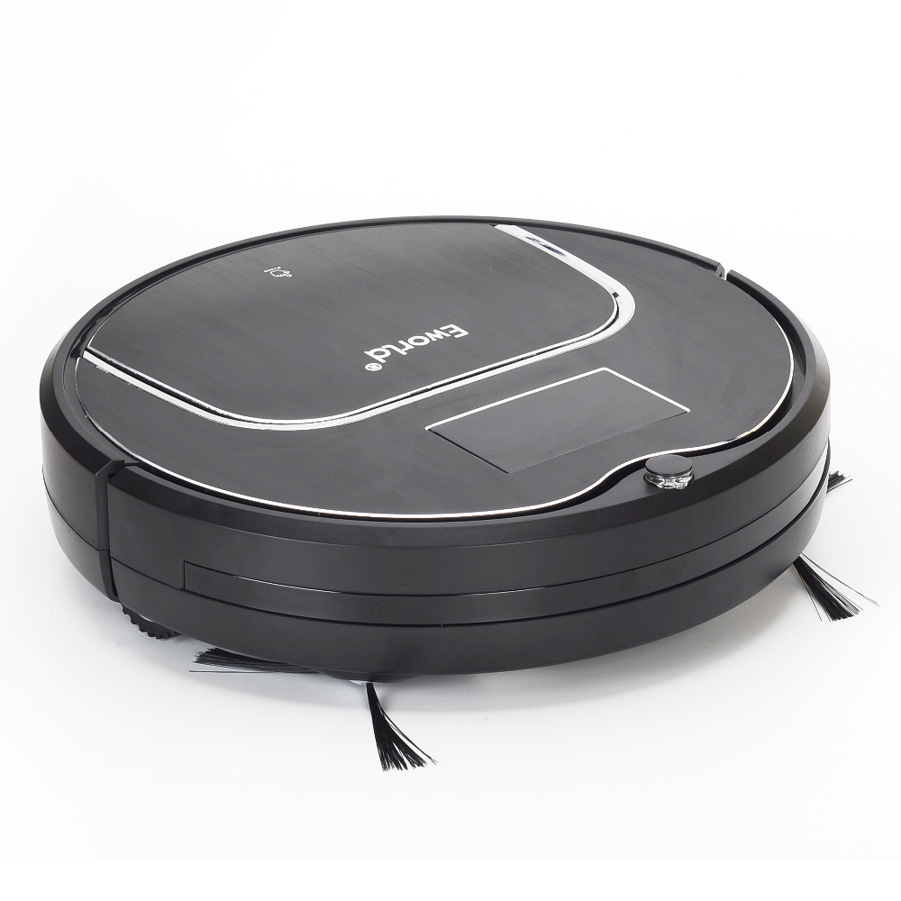 Eworld M883 Intelligent Cordless Robot Vacuum Cleaner With Big Garbage Box Big Mop Anti-Fall Sensor For Cleaning House Floor(China (Mainland))