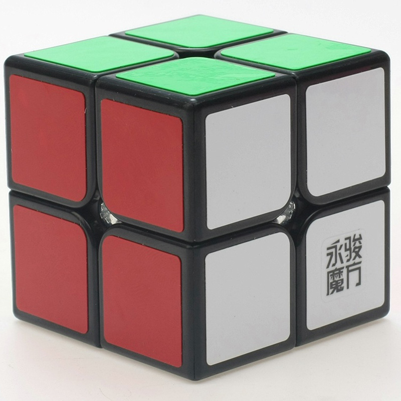 Yongjun YJ Yupo Speed Twist 2x2x2 Magic Cube Puzzle Game Speed Mini 2x2 Pocket Cube Sales Toys(China (Mainland))