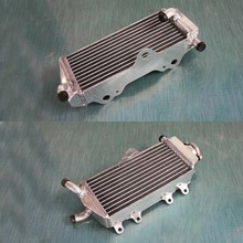 40mm L&R aluminum alloy radiator For Yamaha YZ125 model year 2002-2004 2003 engine cooling system for motorcycle Free shipping(China (Mainland))