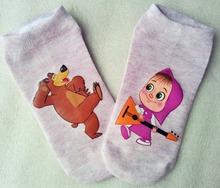 Wholesale cotton children socks kids socks for girls boys 6-14 Age cartoon pattern 5 colors ZL0718(China (Mainland))