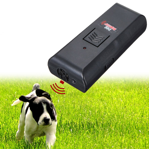 2016 New Arrival High Quality Black Dog Pet Ultrasonic Aggressive Dog Repeller Train Stop Barking Training Device(China (Mainland))