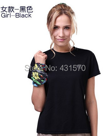 2014 Hot New Summer sport gym shirts short-sleeved Fitness Women's T-Shirts quick-drying - ruth shi's store