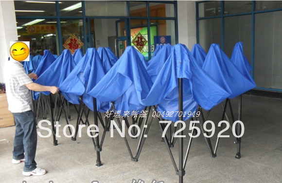 Exhibition  folding tent shelters car canopy awning  3* 6 meters with blue or red cloth(China (Mainland))