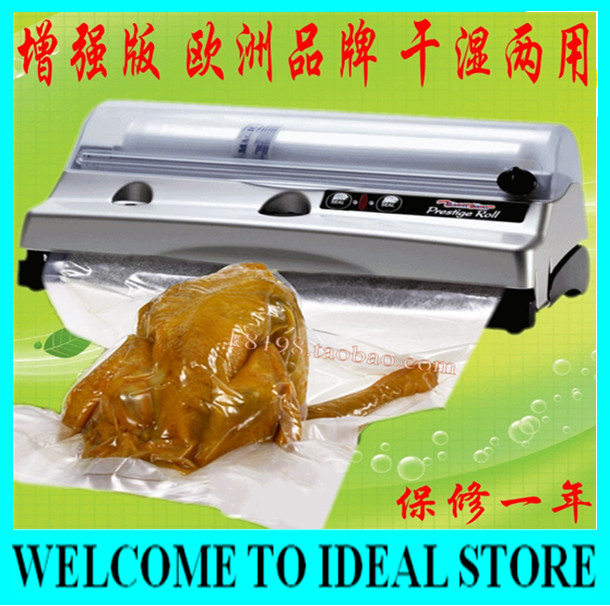 European Quality Magic Vac Prestige Roll Vacuum Sealer, Household Vacuum Food Sealer, Automatic One Touch(China (Mainland))