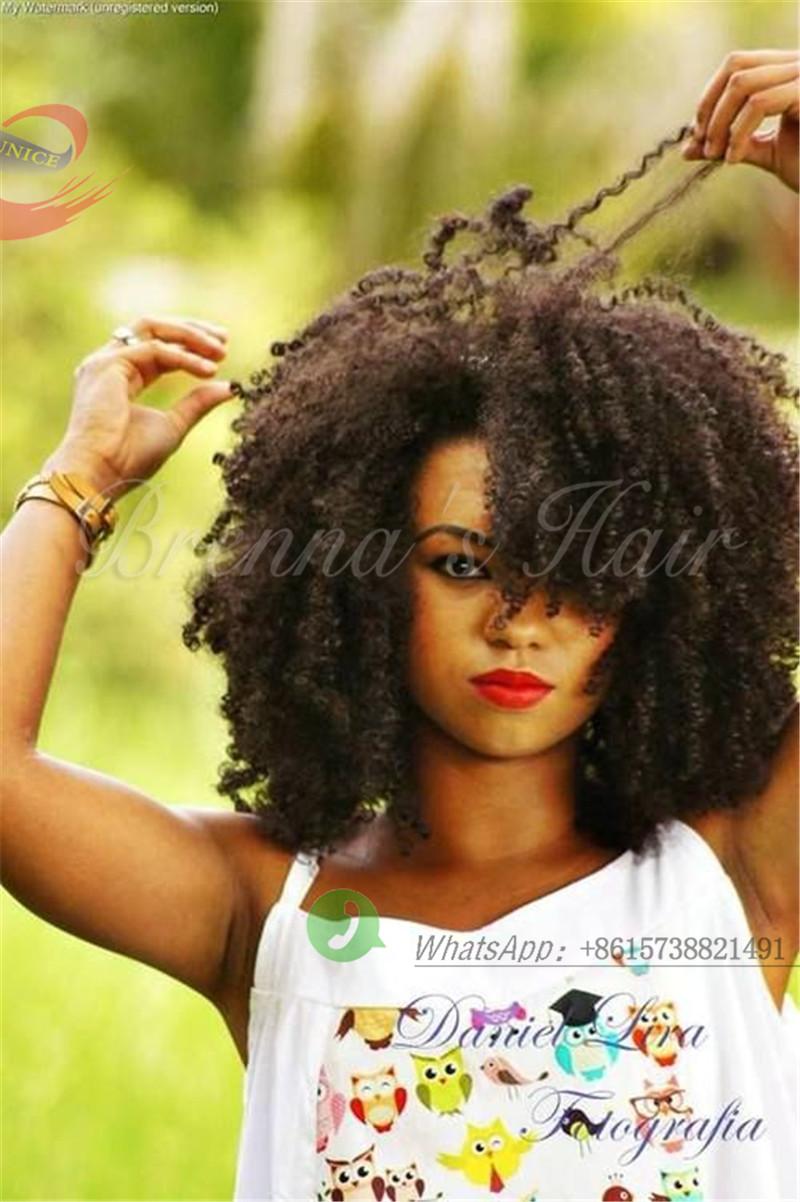kinky curly Afro Kinky Afro Naptural Mali Braids Marley Crochet Braids ...