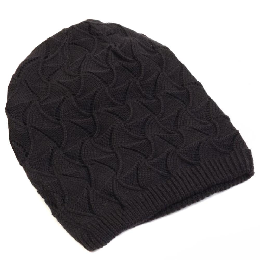 Striped Crochet Beanie Cap Hat Pattern