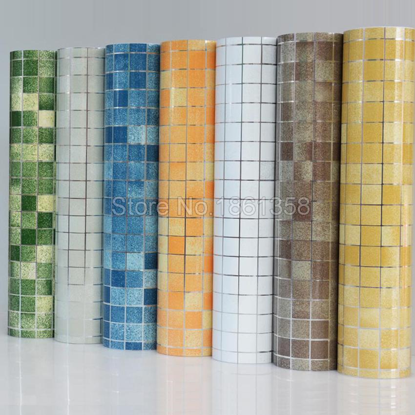 Acheter salle de bains stickers muraux pvc for Papier peint vinyl salle de bain