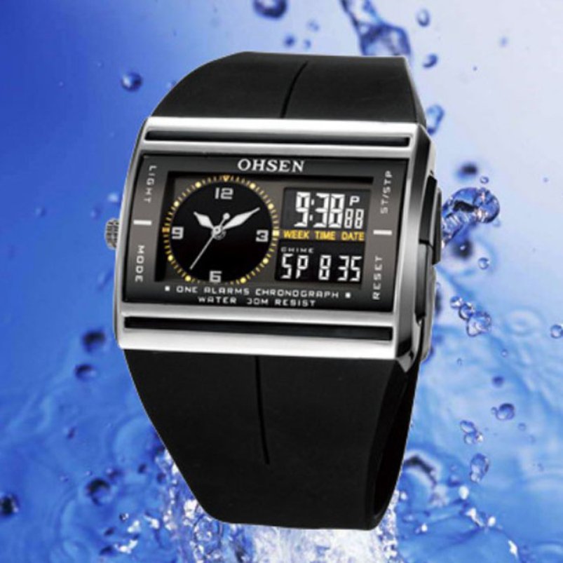 Splendid Brand Mens Business Watch Digital LED Date Rubber Sport Waterproof Mens Boy Wrist Watches Relogio Masculino<br><br>Aliexpress