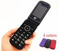 original flip russian keyboard dual sim cheap senior mobile phone gsm china Phone Elder clamshell Cell