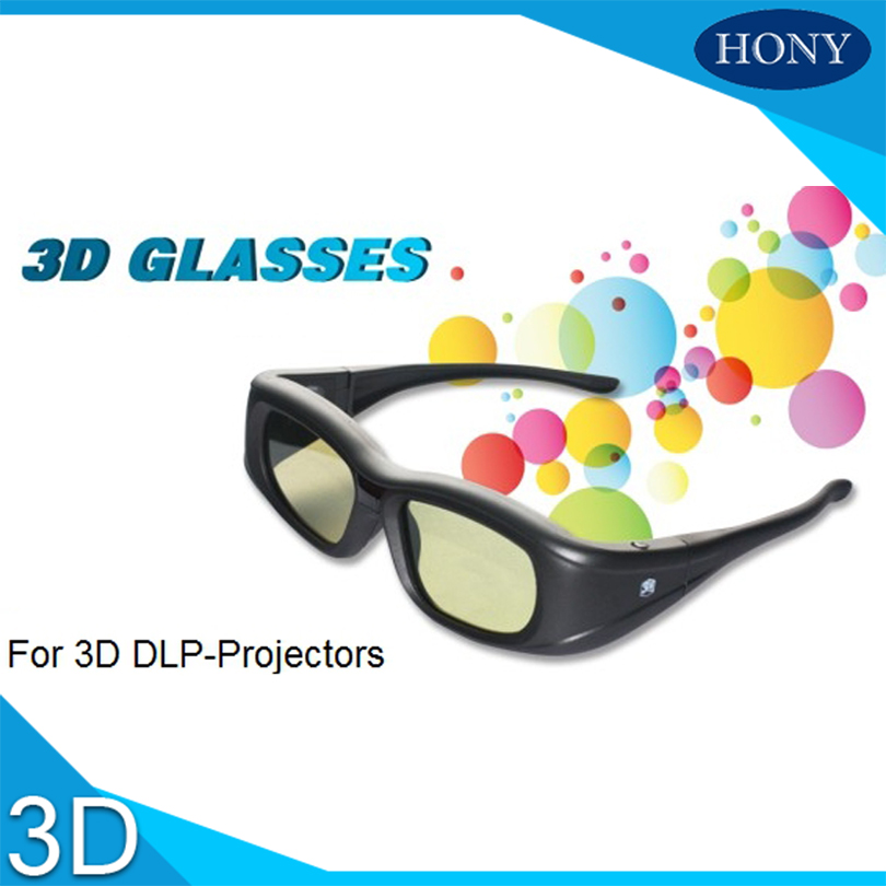 Brand Hony 3D Active Shutter TV Glasses Blue tooth IR 3D Rechargeable, Micro-USB Glasses work with many brands SG005 5pcs/lot(China (Mainland))