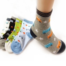 2015 New Spring Baby Sock Cartoon Stars Girl Socks Baby Boy Socks For Baby Autumn Good Quality  2-12years 5pairs(China (Mainland))