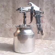 Envío gratis del aerosol el arma del rociador Air Brush aleación pintura pintura herramienta 750 ml taza automóvil / muebles / madera, 1.5 mm