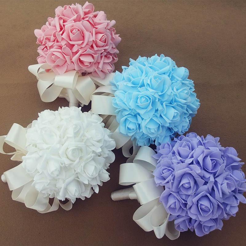 Sale Romantic Bridal Bouquet Bride Holding Flowers Wedding
