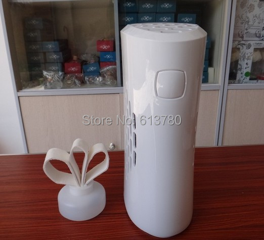 OEM ODM factory automatic fan aroma dispenser bathroom toilet perfume sprayer aerosol air freshener air scent marketing(China (Mainland))