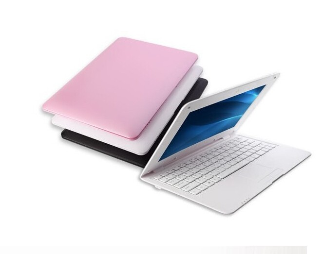 Mini laptop cheap netbook 10 inch Quad Core Android 5.1 notebook PC 512MB RAM 8GB ROM Kids laptops with free shipping(China (Mainland))