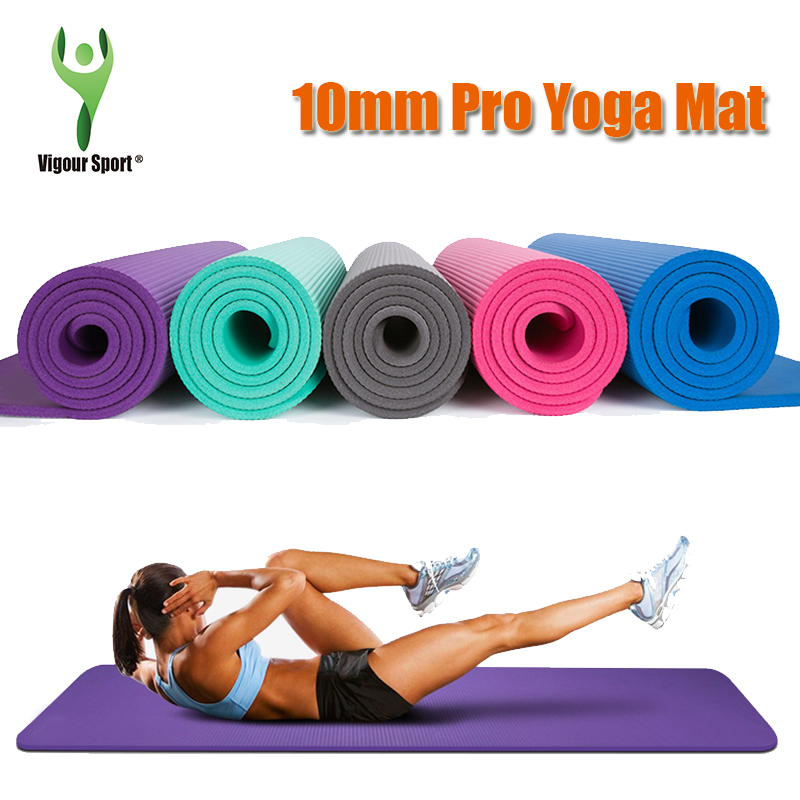 2016 New PVC Exercise Yoga Mat Pad Non-Slip Lose Weight Exercise Fitness Folding Gymnastics Mat for Fitness Free Shipping