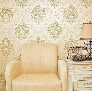 High-end non-woven European vintage gorgeous flower wallpaper/tapete roll full living room,bedroom - Cici's Friends store