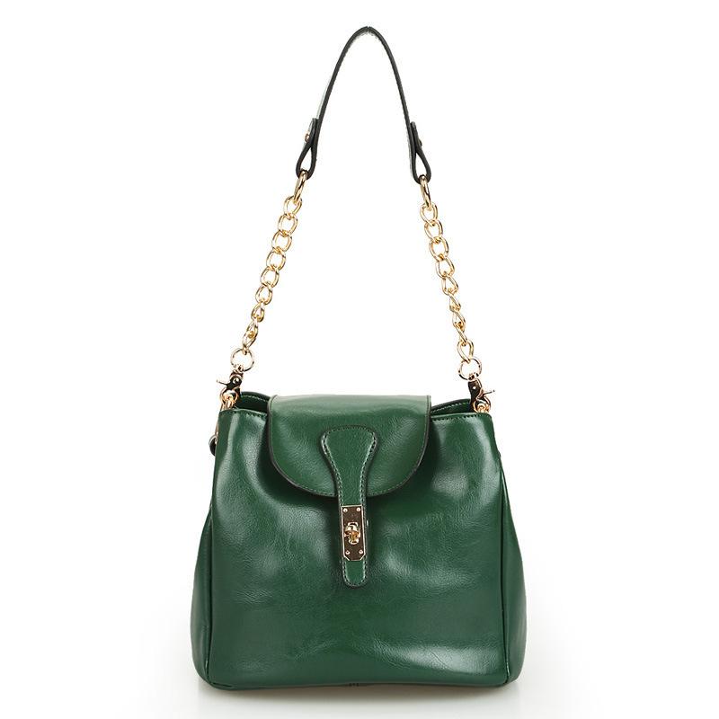 2015 genuine leather bag women shoulder bag brand luxury women shoulder or crossbody bags 100% real leather women handbag<br><br>Aliexpress