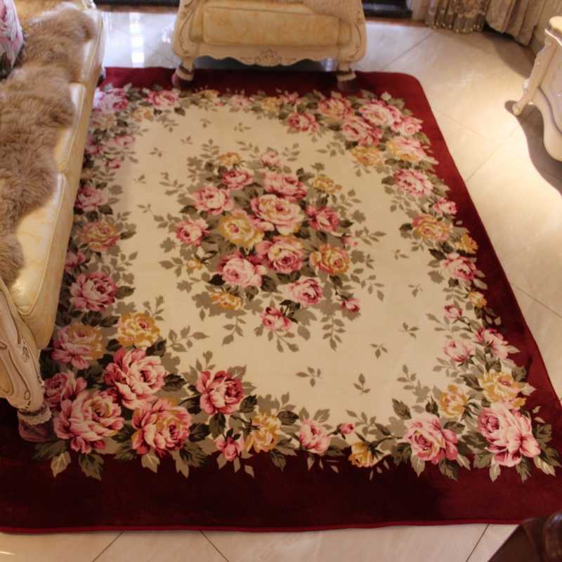 Online Get Cheap Corail Tapis Rose
