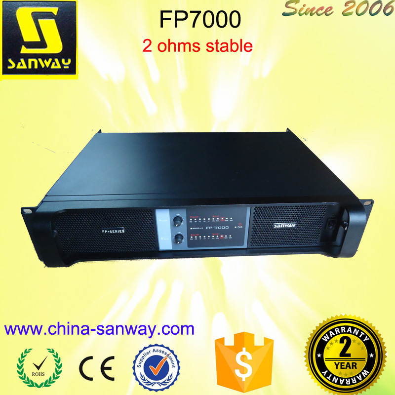 Sound System Mixer Power Amplifier FP7000 Pa System Power Amplifiers(China (Mainland))
