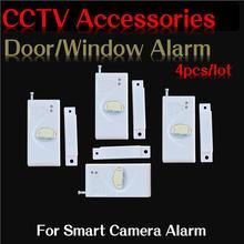 wireless contact sensor 433mhz door sensor wireless door sensor 5pc/lot from bivictory door alarm for smart camera
