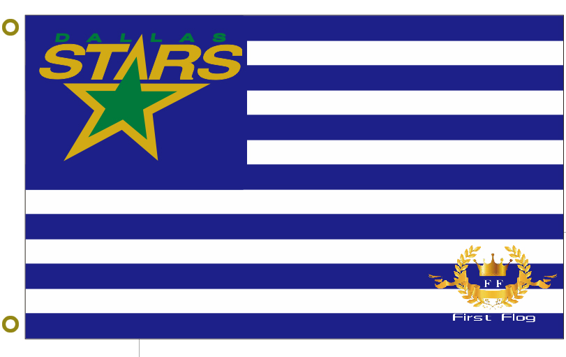 Custom flag Dallas Star NHL Flag ice hockey 3x5ft 100%polyester free shipping NHL banner(China (Mainland))