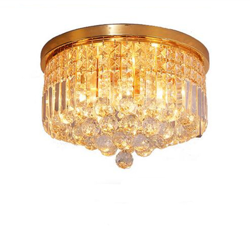 moder lighting. luxurious modern fashion golden clear k9 crystal led e1446 ceiling lights for living room bedroom dia 3040cm ac 80265v 1276 moder lighting